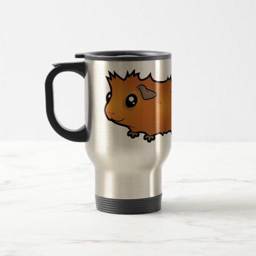 Cartoon Guinea Pig (scruffy) 15 Oz Stainless Steel Travel Mug