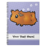 Cartoon Guinea Pig (scruffy) Notebook