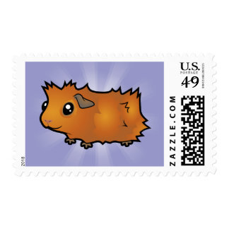 Cartoon Guinea Pig (scruffy) Postage
