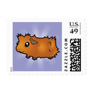 Cartoon Guinea Pig (scruffy) Postage