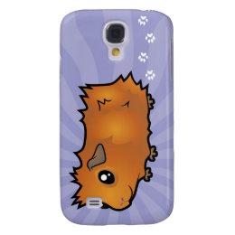 Cartoon Guinea Pig (scruffy) Samsung Galaxy S4 Cover