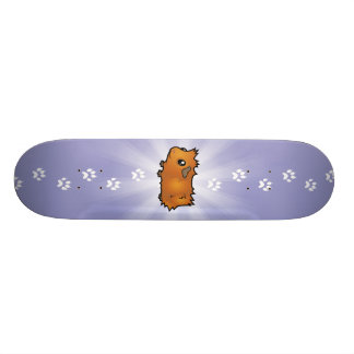 Cartoon Guinea Pig (scruffy) Skateboard Deck
