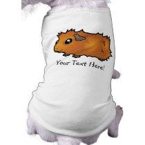 Cartoon Guinea Pig (scruffy) Tee