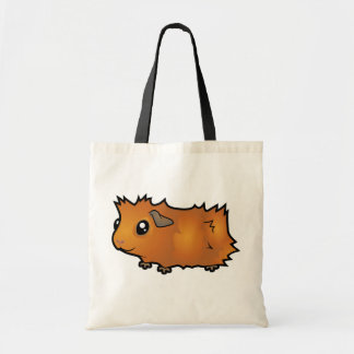 Cartoon Guinea Pig (scruffy) Tote Bag