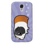 Cartoon Guinea Pig (smooth hair) Samsung Galaxy S4 Covers