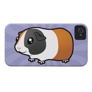 Cartoon Guinea Pig (smooth hair) iPhone 4 Case