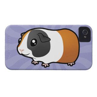 Cartoon Guinea Pig (smooth hair) iPhone 4 Cover