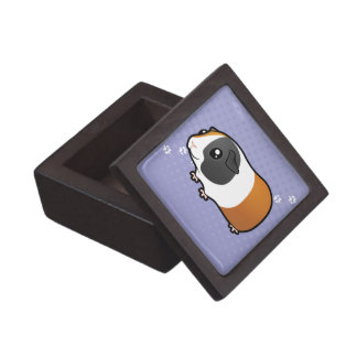 Cartoon Guinea Pig (smooth hair) Jewelry Box
