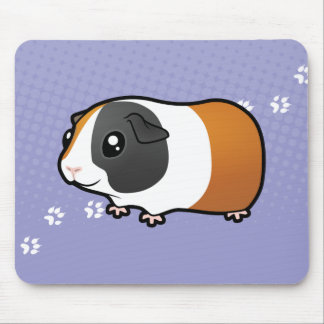 Cartoon Guinea Pig (smooth hair) Mouse Pad