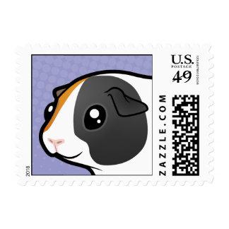 Cartoon Guinea Pig (smooth hair) Postage