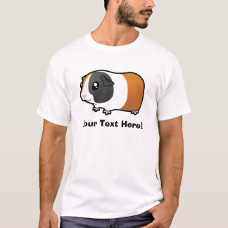 Cartoon Guinea Pig (smooth hair) T-Shirt