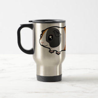 Cartoon Guinea Pig (smooth hair) Travel Mug