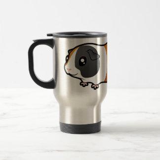 Cartoon Guinea Pig (smooth hair) Travel Mug