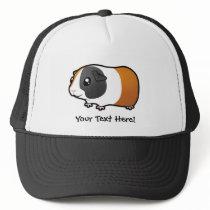 Cartoon Guinea Pig (smooth hair) Trucker Hat