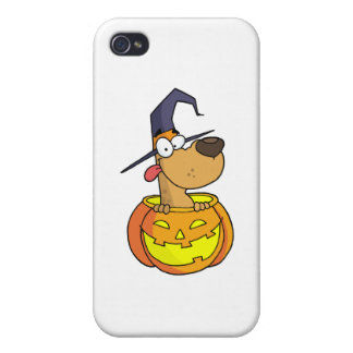 Cartoon Halloween Dog iPhone 4/4S Cover