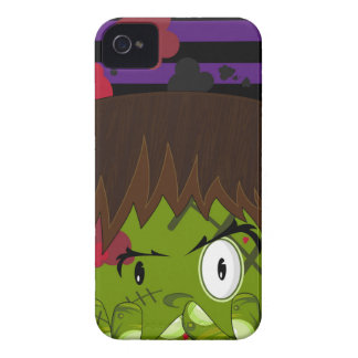 Cartoon Halloween Frankensteins Monster iPhone 4 Case