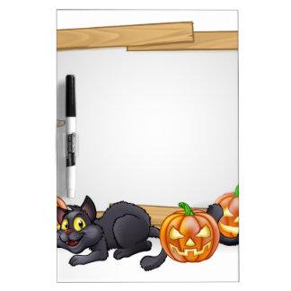 Cartoon Halloween Mummy Sign Dry Erase Board