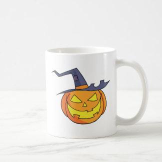 Cartoon Halloween Pumpkin Coffee Mug