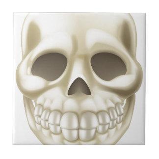 Cartoon Halloween Skull Tiles