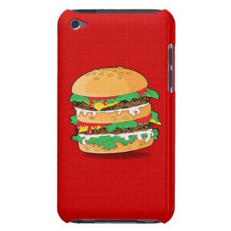 Cartoon Hamburger Barely There iPod Covers