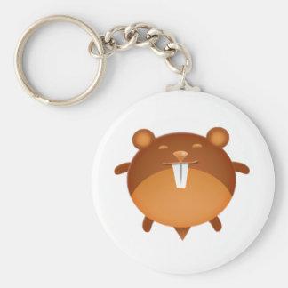 Cartoon Hamster Key Chains