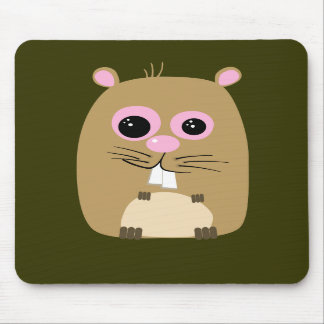 Cartoon Hamster Mousepad
