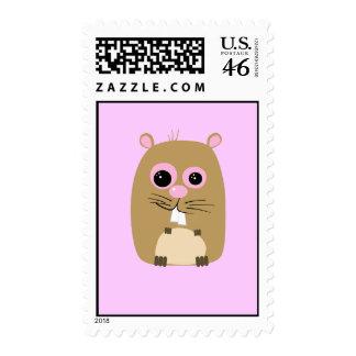 Cartoon Hamster Postage