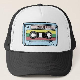 Cartoon Hand Drawn Cassette Tape (Mix It Up) Trucker Hat