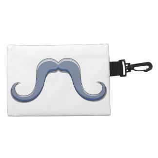 Cartoon Handlebar Mustache Design Accessories Bag