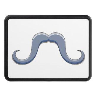 Cartoon Handlebar Mustache Design Hitch Cover