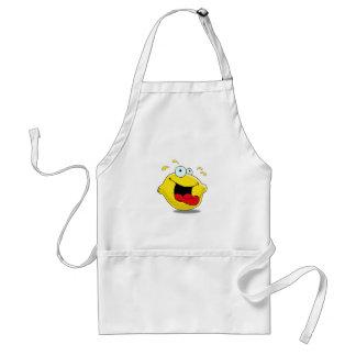 Cartoon Happy Lemon Apron
