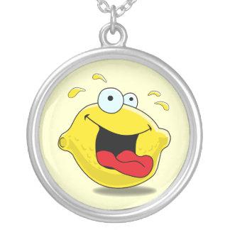 Cartoon Happy Lemon Necklace