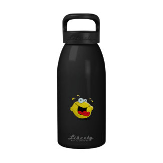 Cartoon Happy Lemon Water Bottle
