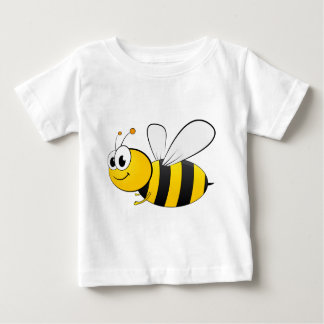 Cartoon Happy Smiling Bee T Shirt