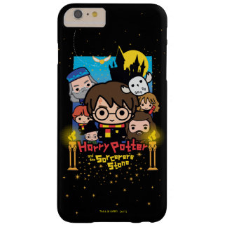 Cartoon Harry Potter and the Sorcerer's Stone Barely There iPhone 6 Plus Case