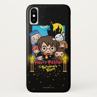 Cartoon Harry Potter and the Sorcerer's Stone iPhone X Case