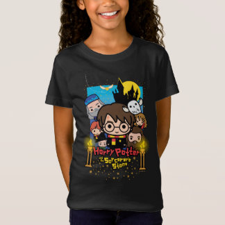 Cartoon Harry Potter and the Sorcerer's Stone T-Shirt