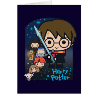 Cartoon Harry Potter Chamber of Secrets Graphic Card
