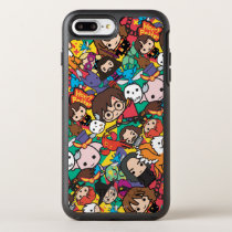 Cartoon Harry Potter Character Toss Pattern OtterBox Symmetry iPhone 8 Plus/7 Plus Case