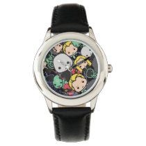 Cartoon Harry Potter Death Eaters Toss Pattern Watch