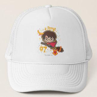 Cartoon Harry Potter Quidditch Seeker Trucker Hat