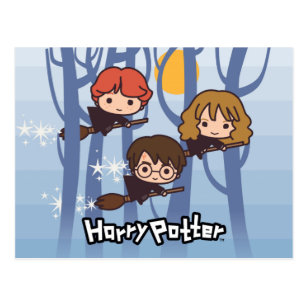Cartoon ron weasley cards greeting photo cards zazzle cartoon harry ron hermione flying in woods postcard bookmarktalkfo Image collections