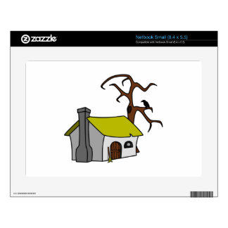 Cartoon Haunted House Skins For Small Netbooks