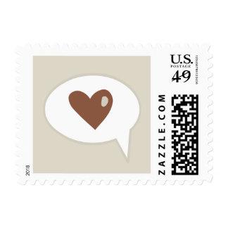 Cartoon Heart Love stamps