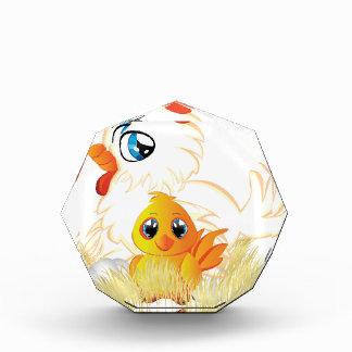 Cartoon Hen and Chicken Awards