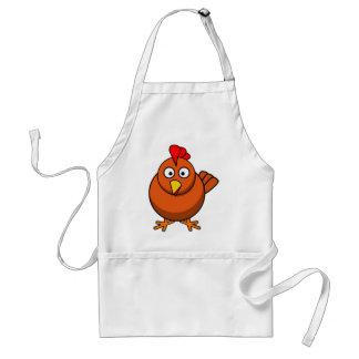 Cartoon Hen Chicken Aprons
