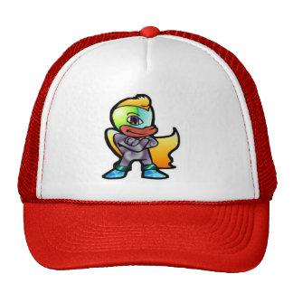 Cartoon Hero Mesh Hats
