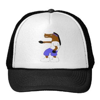 Cartoon Hip Hop Horse Nelly Fan Trucker Hat