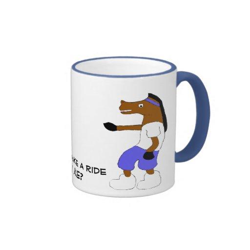 Cartoon Hip Hop Horse Nelly Fan Mugs