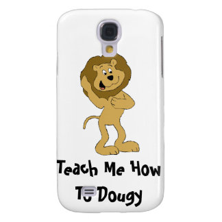 Cartoon Hip Hop Lion Doing The Dougie Samsung Galaxy S4 Case